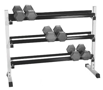 Yukon 3 Tier Dumbbell Rack