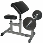 Valor Athletics CB-6 Preacher Arm Curl Bench