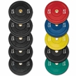 260lb Olympic Rubber Bumper Plate Set
