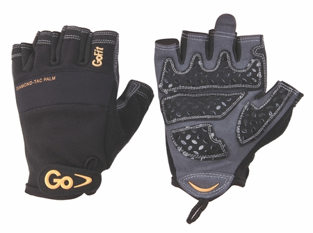 GoFit Diamond-Tac Weightlifting Glove