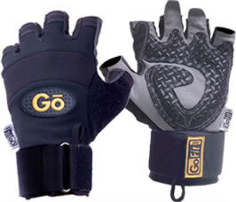 GoFit Diamond-Tac Wrist Wrap Weightlifting Glove