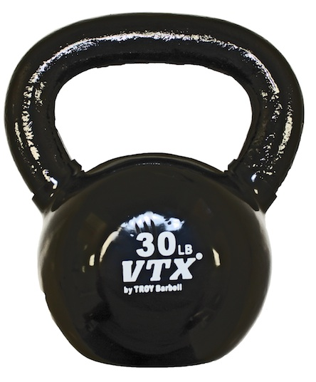 VTX 30lb Vinyl Coated Kettle Bell