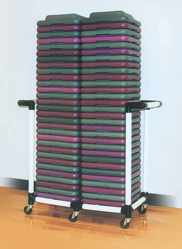 Health Club Step Riser Cart
