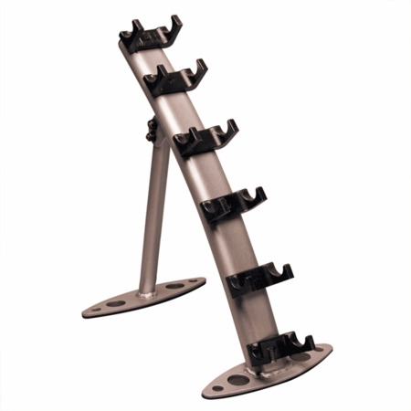 Body Solid 3 Pair Vinyl/Neoprene Dumbbell Rack