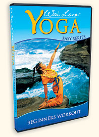 Wai Lana Beginners Workout Yoga   DVD