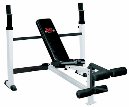 FTS York Olympic Weight Bench W/Leg Developer