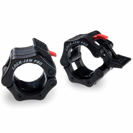 "Lock Jaw Pro 2"" Olympic Locking Collars - Black"