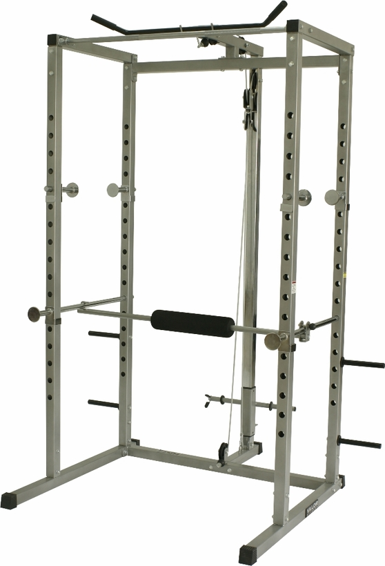Valor Fitness BD-7 Power Rack W/Lat Machine