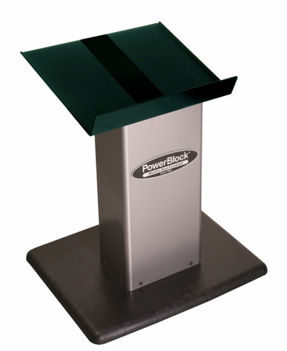 PowerBlock Small Column Stand - Silver
