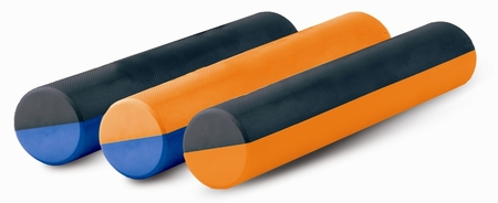 "Aeromat Dual Color Foam Roller - 6"" x 18"""