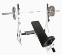 Yukon Commercial Incline Olympic Weight Bench