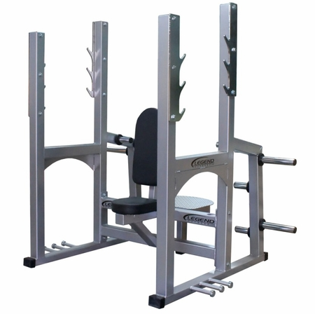 Legend Pro Series Olympic Shoulder Press Bench #3242
