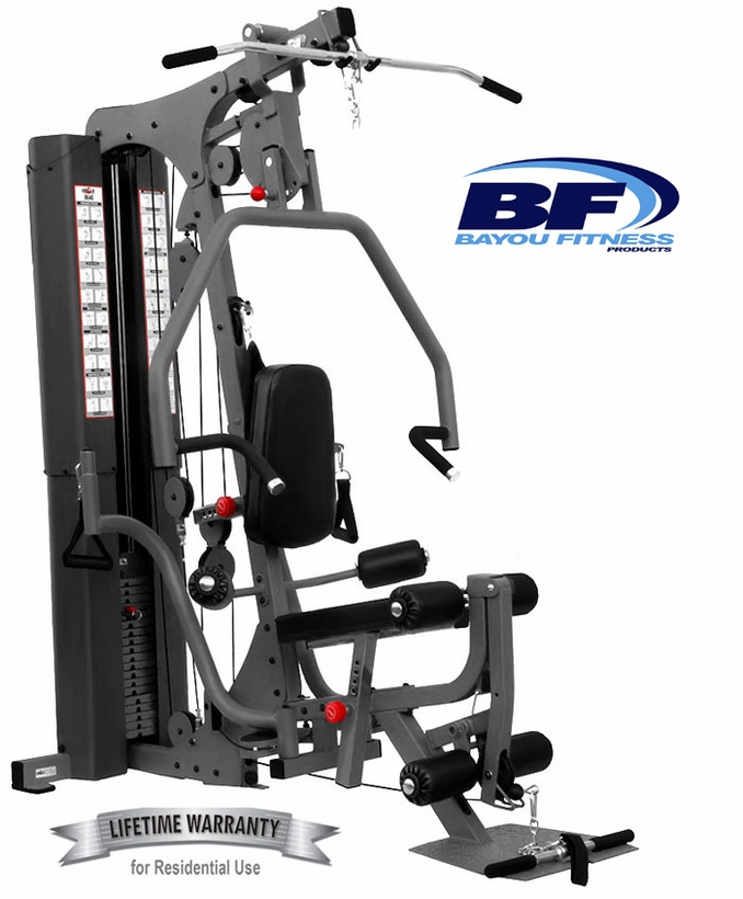 E8640 E-Series Home Gym W/Pec Fly Attachment