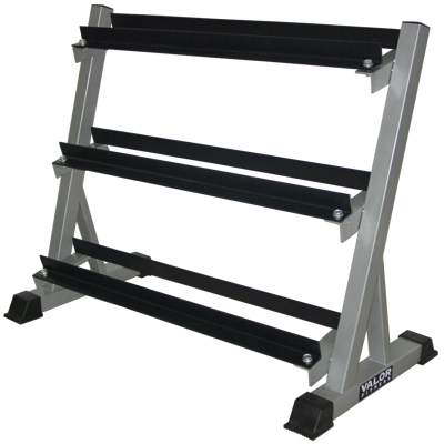 Valor Fitness BG-12 3 Tier Dumbbell Rack