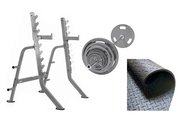 Olympic Squat Rack Combo
