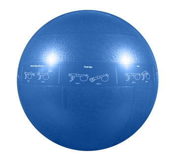 55cm GoFit Professional Grade Stability Ball