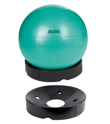 Aeromat Deluxe Fitness Ball Base