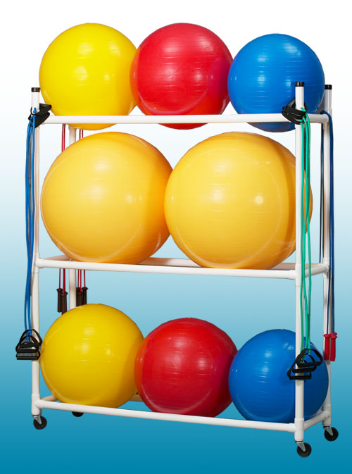 Stability Ball Caddy