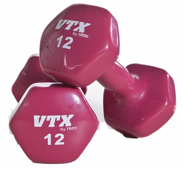 Vinyl Coated Dumbbells  3,5,8,10Lb Set