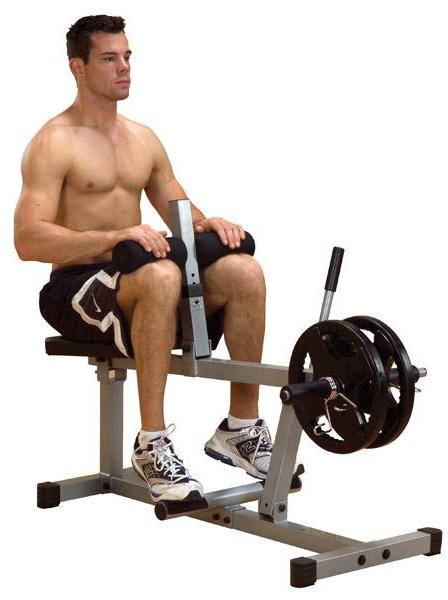 Body Solid PSC43X Powerline Seated Calf
