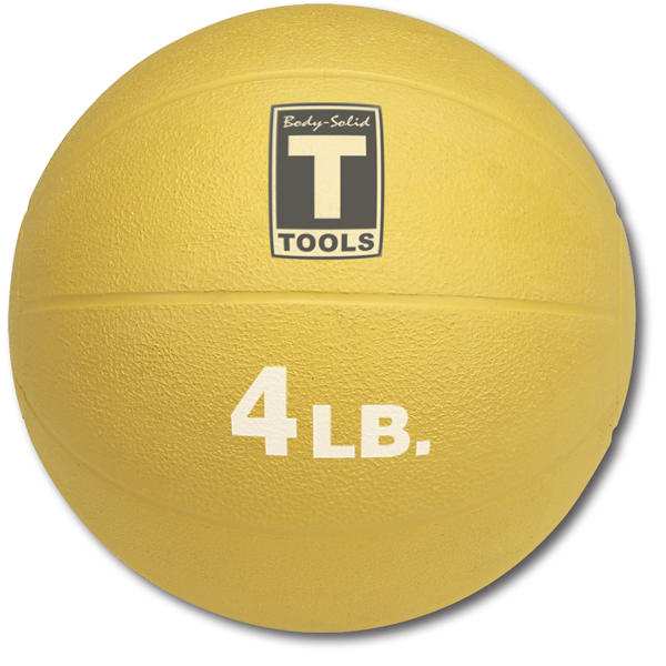 Body Solid 4lb Medicine Ball - BSTMB4
