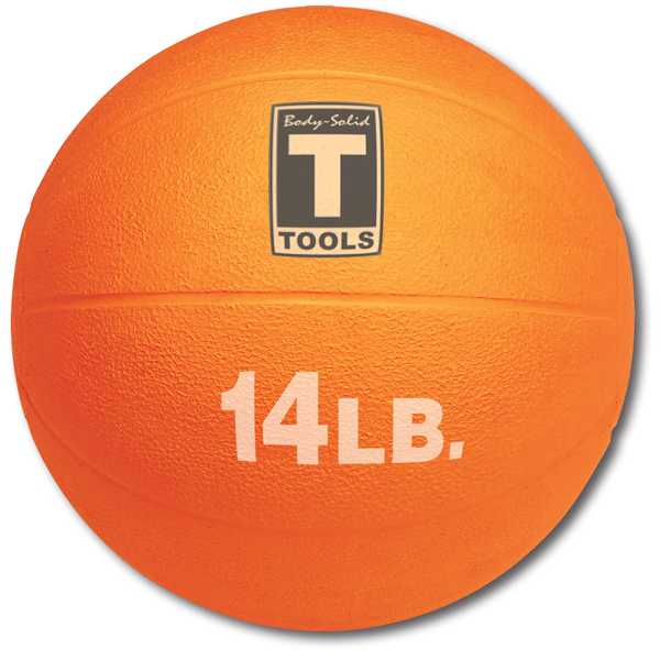 Body Solid 14lb Medicine Ball - BSTMB14