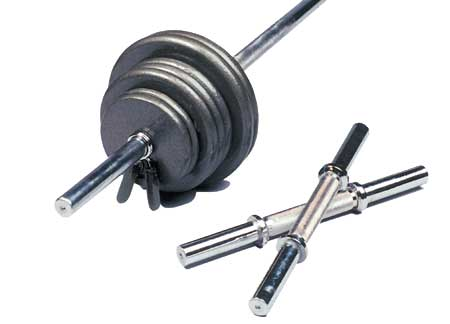 110 lb. Regular Weight Set (non-olympic)