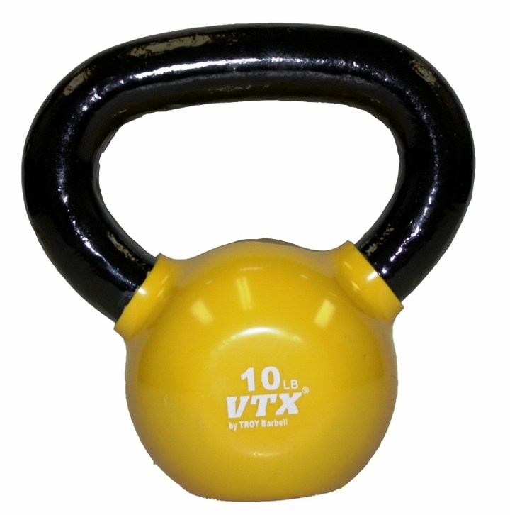 VTX 10lb Vinyl Coated Kettle Bell