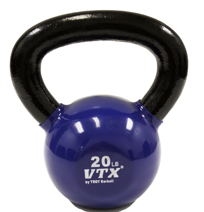 VTX 20lb Vinyl Coated Kettle Bell