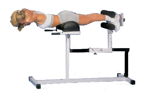 Yukon Fitness Back Hyperextension