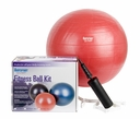 55cm Aeromat  Burst Resistant  Fitness Ball Kit