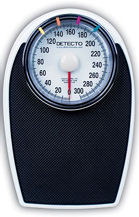 Detecto D1130 Personal Floor Scale