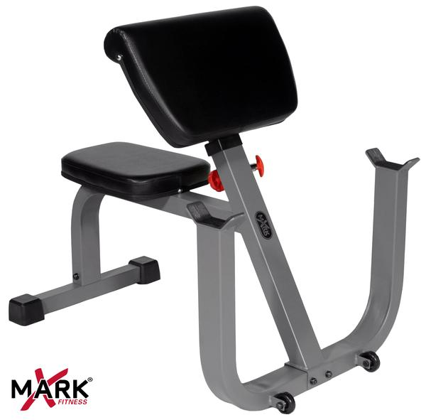XMark XM-4436 Seated Preacher Curl Weight Bench
