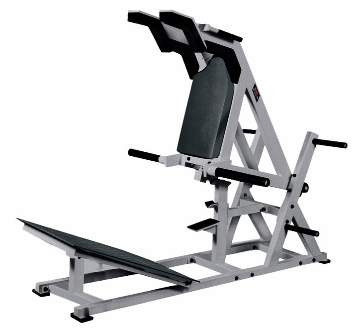 York Power Front Squat Machine