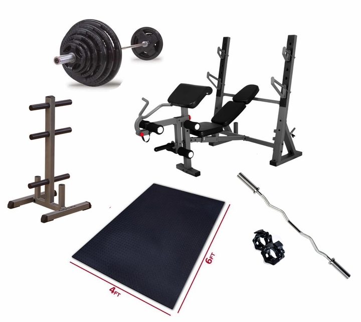 Premium Olympic Bench Press Package