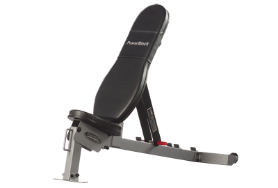PowerBlock Adjustable  Sport  Bench - Silver