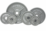 Olympic Weight Plate Set Gray - 455lbs