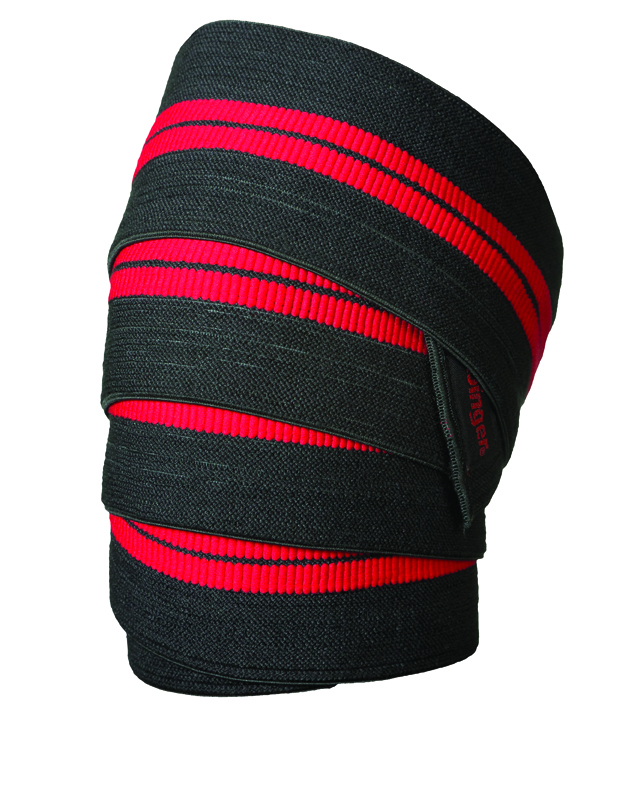 Harbinger Deluxe Red-Line Knee Wraps