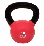 VTX 18lb Vinyl Coated Kettle Bell