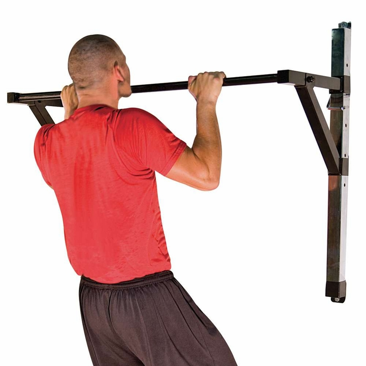 Adjustable Wall Mounted Chin Up / Pull Up Bar