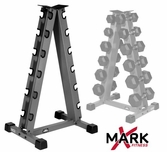 XMark 6 Pair Vertical Dumbbell Rack - XM-3104