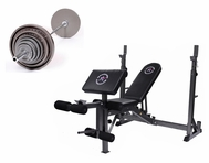Economy 300lb Olympic Bench Press Package