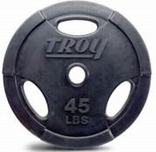 Troy Rubber Encased Grip Olympic Weight Sets