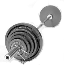 210lb Olympic Weight Set