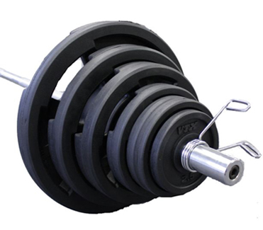 VTX Rubber Encased Olympic Grip Weight Sets