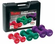 York Neoprene Fitbell Set