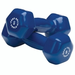 Body Solid Vinyl Dumbbell Set: 1lb - 15lb