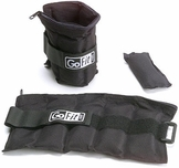 GoFit Ankle Weights - 10lb Pair (5lbs Each)