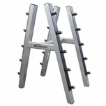 Legend Fitness 10 Pair Barbell Rack 3149