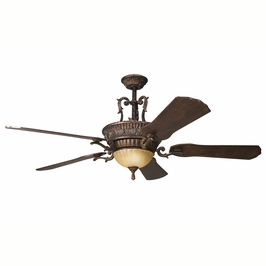 300008BKZ Kichler Decorative 60 Inch Kimberley Fan